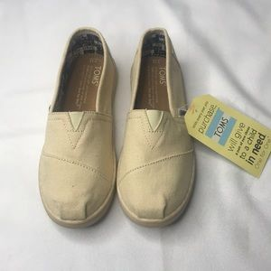 TOMS YOUTH CLASSICS NATURAL CANVAS